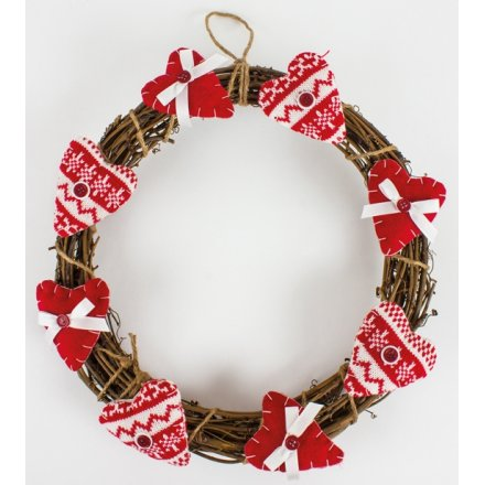 Wreath With Hearts