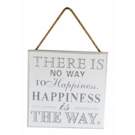 There Is No Way To Happiness..
