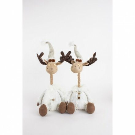 Fabric Sitting Telescopic Moose, 2a