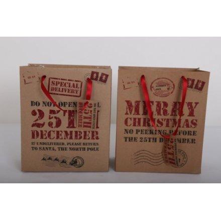25th December Gift Bags Medium, 2a
