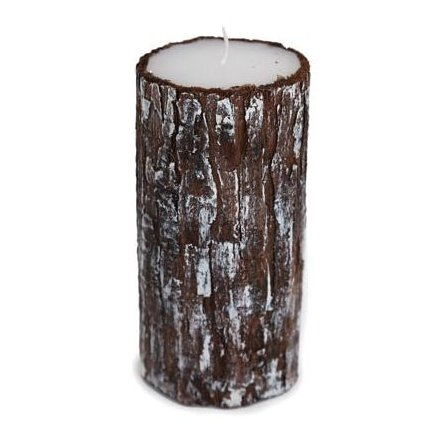 Christmas Log Candle 15cm