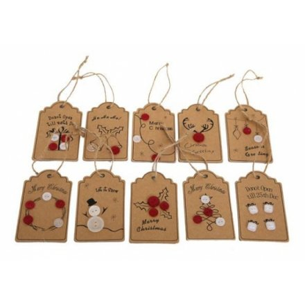 Christmas Paper Gift Tags