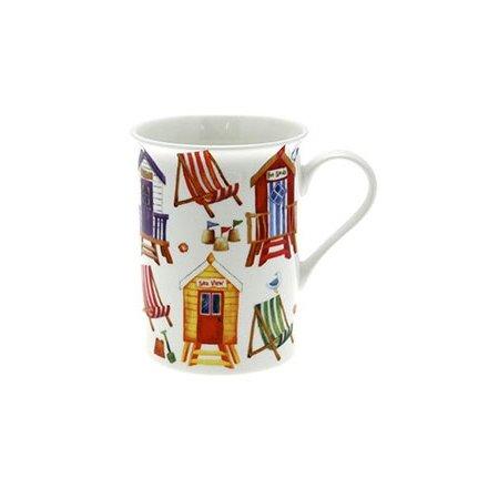 Beachtime Fine China Boxed Mug