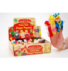 Act out all of your favourite fairy tales with these adorable fairytale finger puppets