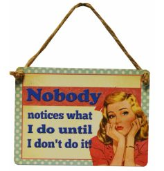Add a little humour to your day with our new mini vintage signs