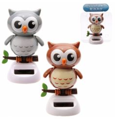 2 Assorted solar owls from the popular solar pal range