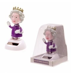 Fun and popular novelty dancing queen solar pal