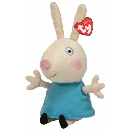 TY Rebecca Rabbit Soft Toy TY Beanie Peppa Pig