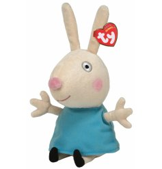 An official Peppa Pig soft toy and TY collectable, making the ideal companion for a little one.