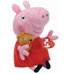 Beautifully made and soft to touch Peppa Pig toy, perfect for little hands to carry.