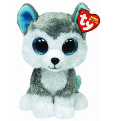 Fine quality and bright eyed Husky Beanie Boo, making the perfect companion for little ones.