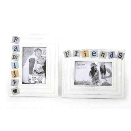Tiled Friends and Family Frames 4x6