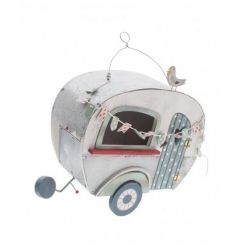 Chic caravan style hanging decoration with a quirky style