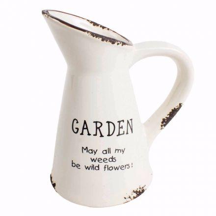 Ceramic Garden Jug