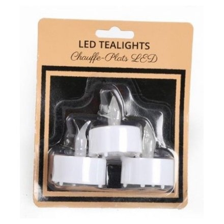 Pack 3 LED T Lights