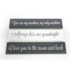 Popular wooden plaques in an assortment of 3