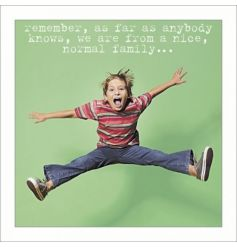 A funny brother birthday card from the iconic photographic Life Is Sweet range.