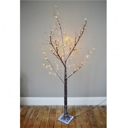 A popular decorative twig tree with LED lights