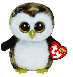 Owliver Beanie Boo soft toy from the high quality TY collection