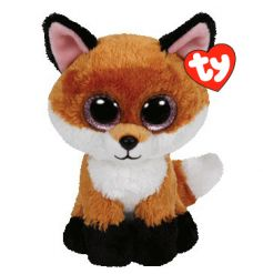 Cuddly fox Beanie Boo soft toy from the TY range