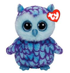 Oscar owl soft toy from the popular Beanie Boo TY range