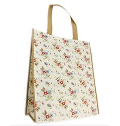 Practical and stylish shopping bag in a Summer Daisy design