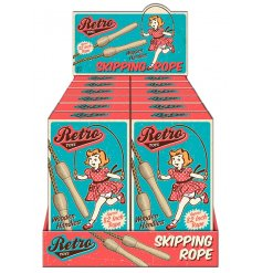 Retro style skipping rope pack for a fun gift and stocking filler