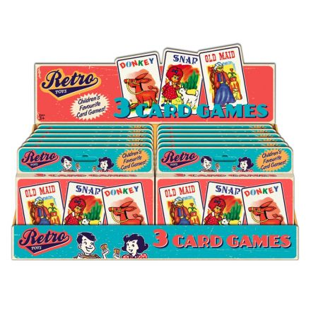 Retro 3 Pack Playing Cards