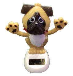 Fun and quirky dancing dog solar pal
