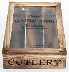 Cutlery tray from the rustic and chic General Store collection