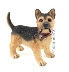 From the Leonardo Walkies collection, German Shepherd figurine