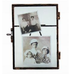 Popular metal photo frames with free standing ability