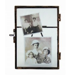 Standing metal vintage picture frame from this popular range