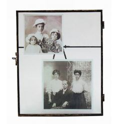 Free standing metal picture frame from the popular range of hanging glass frames