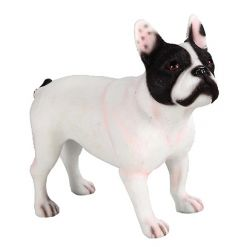 By Leonardo, a French Bulldog figure in a black and white colour