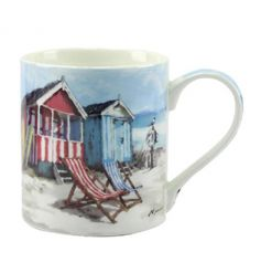 Oxford china mug by Leonardo from the Sandy Bay range