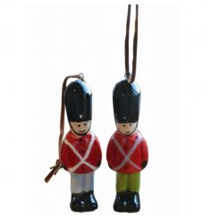 Colourful soldier decorations for your Christmas tree