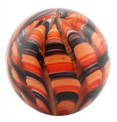 Add a beautiful touch to any space of the home with this round sleek paperweight
