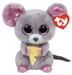 From the popular TY Beanie Boo range, a cute squeaker soft toy
