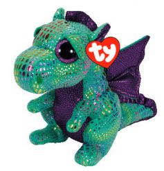 Cinder Dragon soft toy Beanie Boo from the popular TY collection