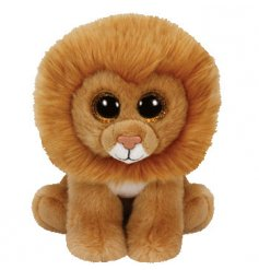 Soft to touch TY lion from the popular Beanie Boo collection