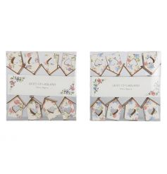 Gift boxed LED house garlands in an assortment of two