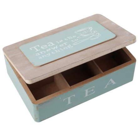 Shabby Chic Tea Container