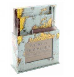 Stationary gift set from the popular World Traveller range