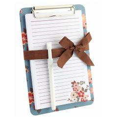 Pretty clipboard and pen from the new Katie range