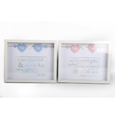 Baby box frames in an assortment of two