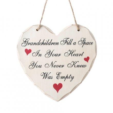 Heart Sign Grandchildren