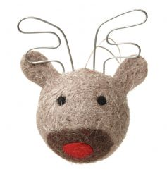 Cute hanging moose decoration with quirky design