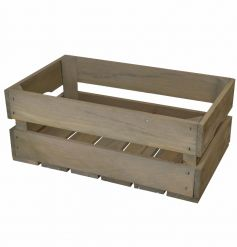 A rustic and versatile storage crate. Ideal for home decor, weddings and personalisation.