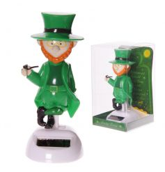 Fun and humorous Leprechaun solar pal
